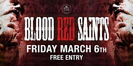 BLOOD RED SAINTS -Hard Rock Band tickets