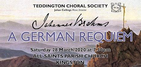 Johannes Brahms, a German Requiem tickets