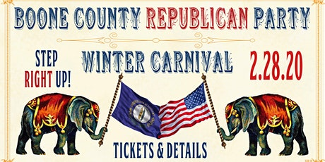 Boone County Republican Party 2020 Winter Carnival tickets