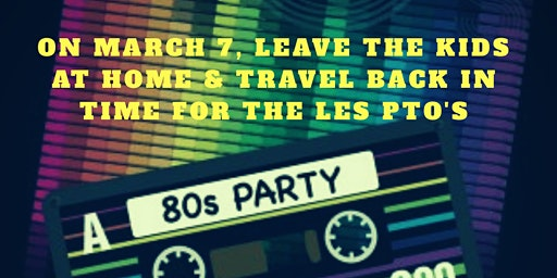 80's Night with Louisburg Elementary PTO