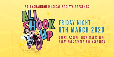 All Shook Up Musical Friday Night Show tickets