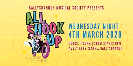 All Shook Up Musical Wednesday Night Show tickets
