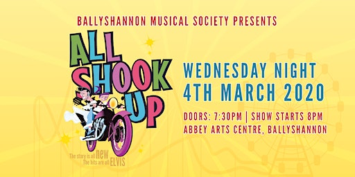 All Shook Up Musical Wednesday Night Show