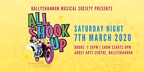 All Shook Up Musical Saturday Night Show tickets
