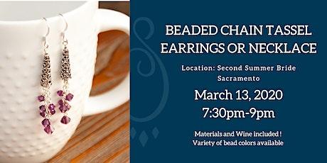 Jewelry DIY Workshop: Beaded Tassel (Earrings or Necklace) tickets