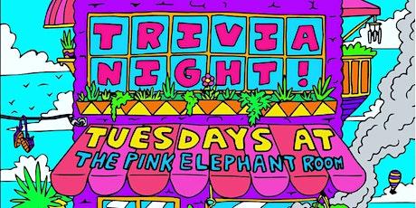 Trivia Night at Pink Elephant Room tickets