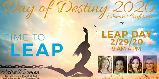 """Day of Destiny 2020: """"Time to Leap"""""""