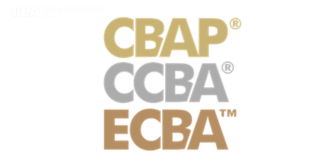 ECBA | CCBA | CBAP Study Group: Requirements Analysis & Design Definition tickets