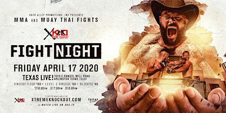 XKO Friday Night Fights tickets