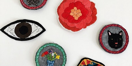 Make Your Own Embroidered Patch workshop at Ragfinery tickets