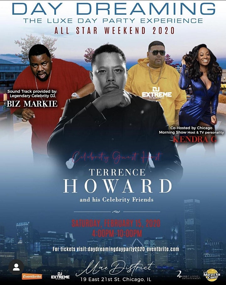'Day Dreaming'  -  All-Star Day Party hosted by Terrence Howard & Kendra G! image