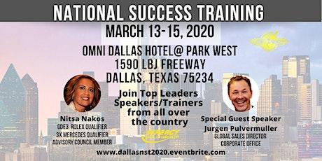 National Success Training- DFW tickets