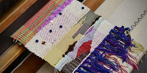 Tapestry Weaving workshop at Ragfinery