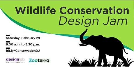 Wildlife Conservation Design Jam tickets