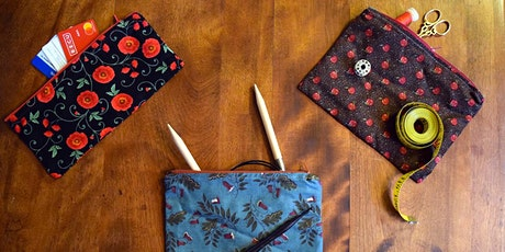 Zippers 101: Pouches workshop at Ragfinery tickets