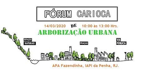 Fórum Carioca de Arborização Urbana ingressos