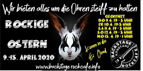 Happy Easter Rock - Gründonnerstag Tickets