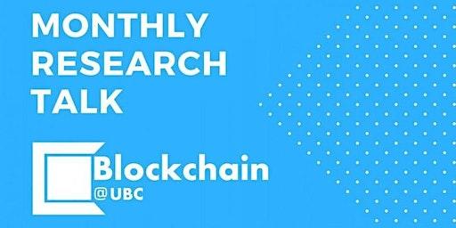 Blockchain@UBC March Research Talk