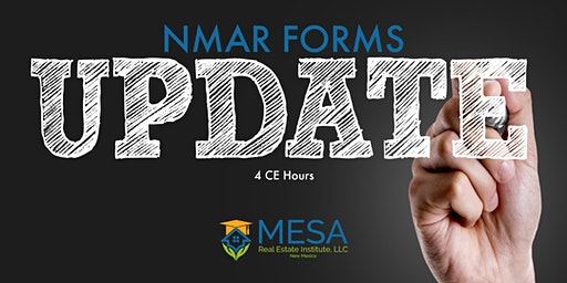 NMAR Forms Update  (Core Elective)
