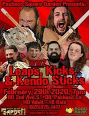 WWZ: Leaps, Kicks & Kendo Sticks tickets