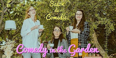 Salon de Comedie: Comedy in the Garden tickets