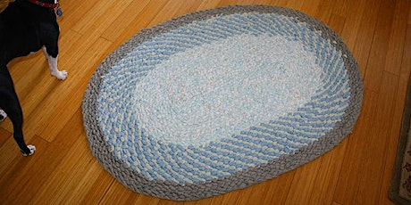 CLASS FULL - No-Sew Braided Rugs workshop at Ragfinery tickets