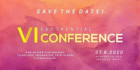 Exponential Conference VI ingressos