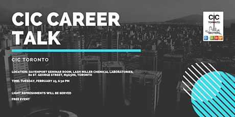 CIC Career Talk tickets