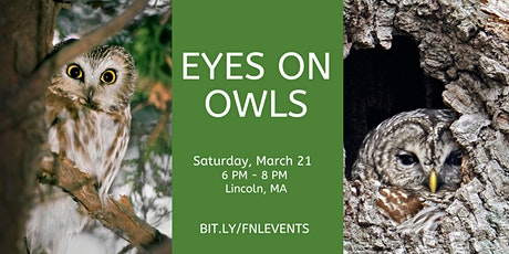 2020 Owl Prowl with Eyes on Owls at Farrington Nature Linc tickets