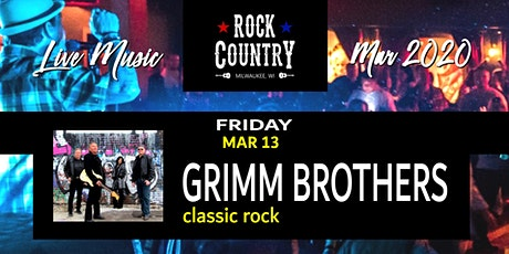 Grimm Brothers (Classic Rock With A Bad Boy Spin) at Rock Country! tickets