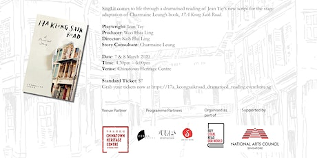 "Dramatised Reading: A Stage Adaptation of ""17A Keong Saik Road"" tickets"