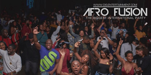 Afrofusion Houston, Texas |AfroBeats, Soca, Reggae, HipHop Party (3/27)