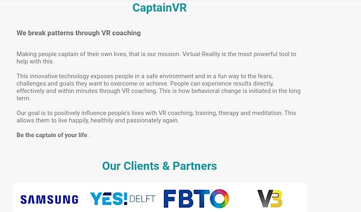 Educators in VR image