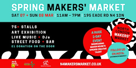 North London Makers' Market – Spring edition tickets