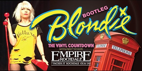 BOOTLEG BLONDIE OFFICIAL TRIBUTE - Bank Holiday Sunday tickets