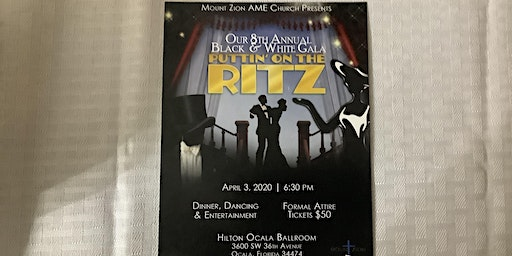 Mount Zion  Ocala  Black and White Gala 2020
