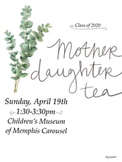 SBA Senior Mother Daughter Tea tickets