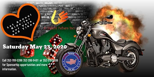 1st Annual Ride for our Vets and Tikes