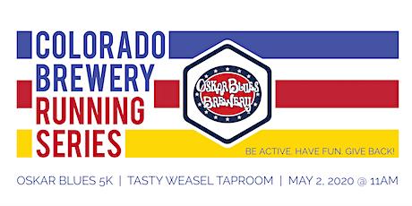 Beer Run - Oskar Blues 5k   Colorado Brewery Running Series tickets