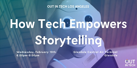 Out in Tech LA | How Tech Empowers Storytelling tickets