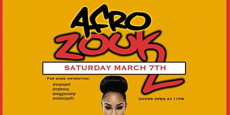 AFRO ZOUK PARTY 4TH EDITION tickets
