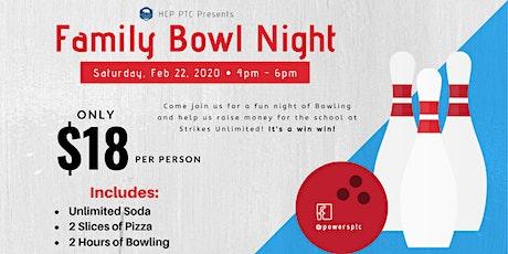 Family Bowl Night tickets