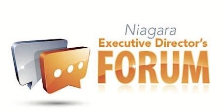 Niagara Executive Director's Forum tickets