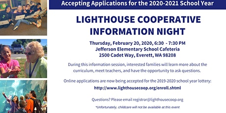 Lighthouse Cooperative Information Night tickets