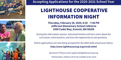 Lighthouse Cooperative Information Night