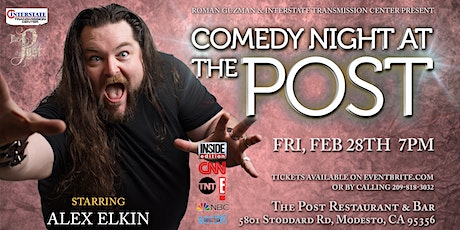Comedy Night At The Post Starring Alex Elkin tickets