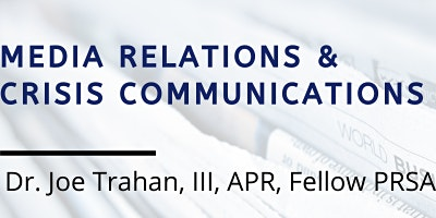 Media relations and crisis communications