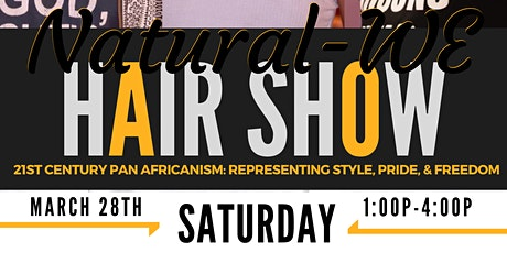 4th Annual Natural-WE Community Hair Show tickets