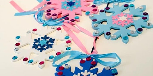 Snowflake Wand Craft - ages 1.5+