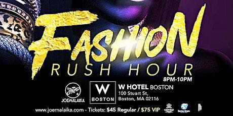 Fashion Rush Hour by Joe Malaika tickets